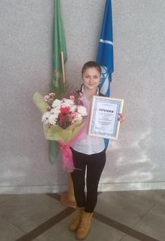 Награждение Премией Витебского областного исполнительного комитета по поддержке талантливой молодежи