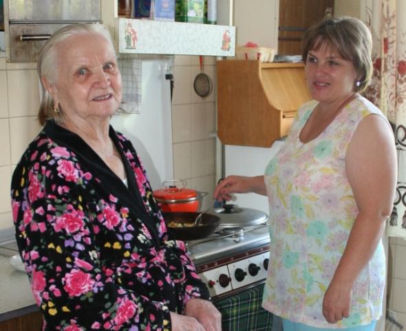 Вежливость, такт и понимание отличают работников отделения социальной помощи на дому