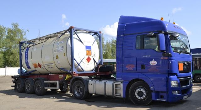 Танк-контейнер для перевозки наливных грузов